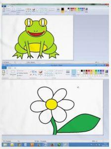 como usar paint para dibujar