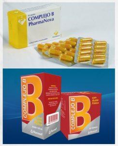 dosis de complejo b