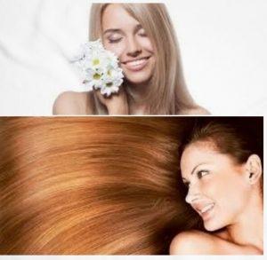 beneficios de la manzanilla para el cabello