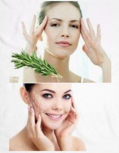 propiedades del romero en la piel