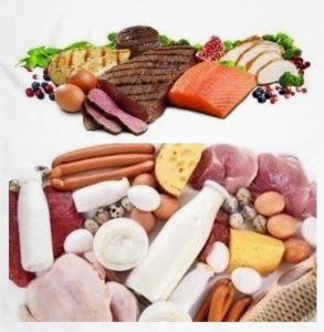alimentos con glutamina
