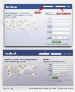 crear cuenta en Facebook