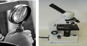 para que sirve un microscopio