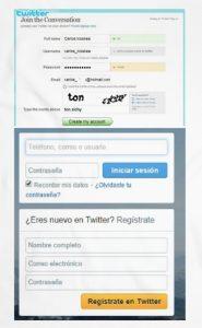 twitter registrarse