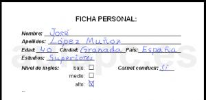 tipos de formularios