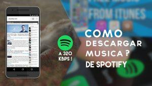 como descargar musica de spotify gratis